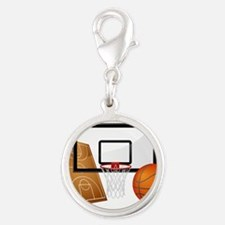 Basketball, Sports, Athlete Charms
