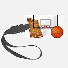 Basketball, Sports, Athlete Luggage Tag