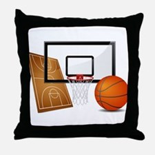 Basketball, Sports, Athlete Throw Pillow