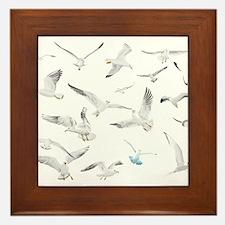 Birds Framed Tile