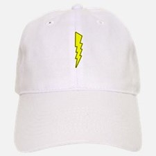 Bolt, Lightning, Electric Baseball Baseball Baseball Cap