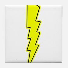 Bolt, Lightning, Electric Tile Coaster