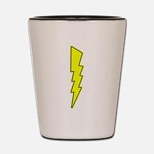 Bolt, Lightning, Electric Shot Glass