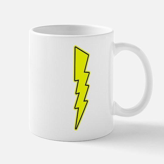 Bolt, Lightning, Electric Mugs