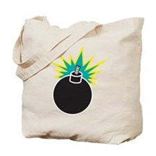 Bomb, Boom, Explosive Tote Bag