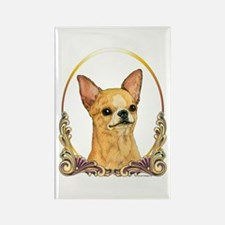 Chihuahua Christmas/Holiday Rectangle Magnet