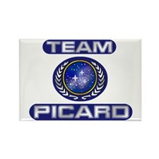 Team Picard Federation Magnets