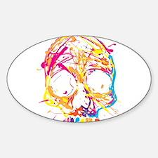 Skull, Paint, Art, Cool Decal