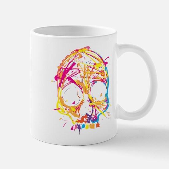 Skull, Paint, Art, Cool Mugs