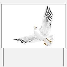Bird, Dove, Peace Yard Sign