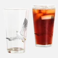 Bird, Dove, Peace Drinking Glass