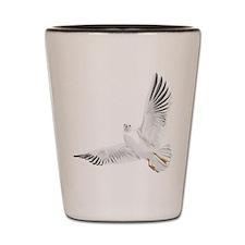 Bird, Dove, Peace Shot Glass