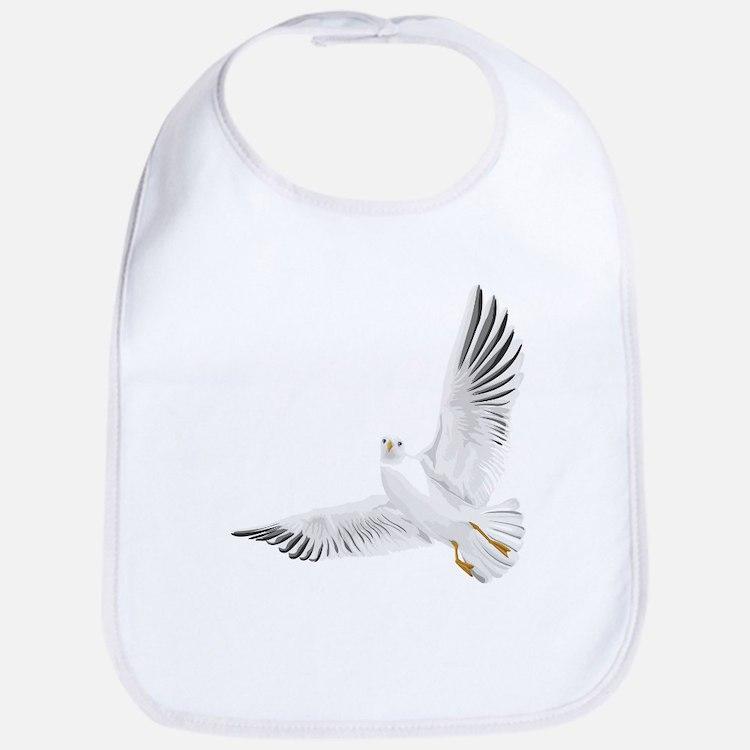 Bird, Dove, Peace Bib
