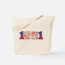 #1 Grandfather / Tote Bag