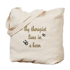 barn therapy Tote Bag
