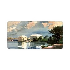 Winslow Homer - Salt Kettle Aluminum License Plate