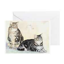 Amber and Jade Greeting Cards (Pk of 10)