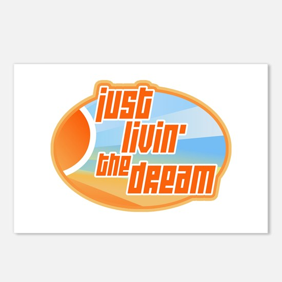 Livin' the Dream 3 Postcards (Package of 8)