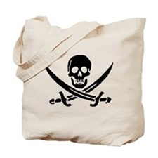 Calico Jack Rackham Jolly Roger:Pirate Flag Black