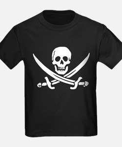 Calico Jack Rackham Jolly Roger:Pirate Flag T-Shir