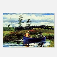Winslow Homer - The Blue  Postcards (Package of 8)