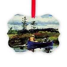 Winslow Homer - The Blue Boat Ornament