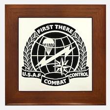 Combat Controller B-W Framed Tile