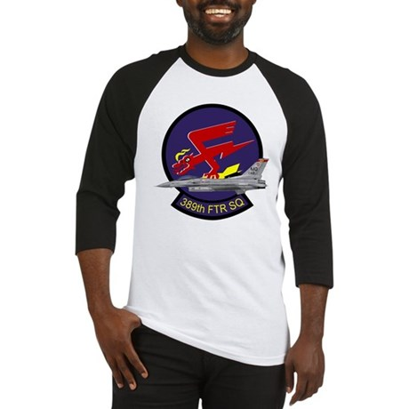 F-16 389th Fighter SQ Baseball Jersey