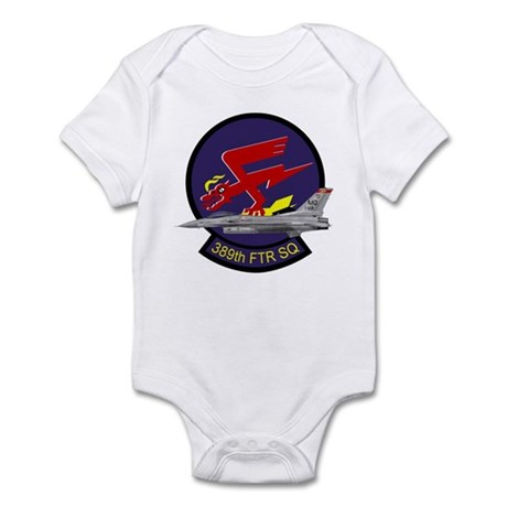 F-16 389th Fighter SQ Infant Bodysuit