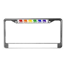 Elephant License Plate Frame