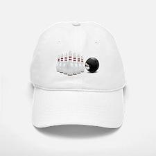 Bowling, Ball, Pins Baseball Baseball Baseball Cap