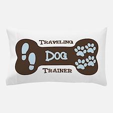 Traveling Dog Trainer Logo Pillow Case