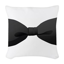 Bowtie Woven Throw Pillow