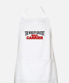 """The World's Greatest Mail Carrier"" BBQ Apron"