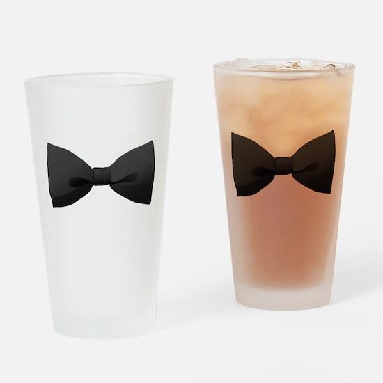 Bowtie Drinking Glass