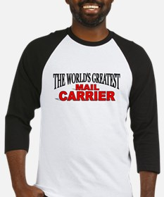 """The World's Greatest Mail Carrier"" Baseball Jerse"