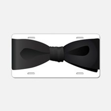 Bowtie Aluminum License Plate