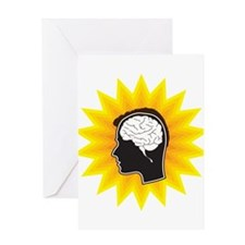 Brain, Mind, Intellect, Intelligence Greeting Card