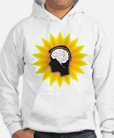 Brain, Mind, Intellect, Intelligence Hoodie