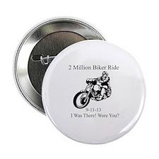 """2 Million Bikers 2.25"""" Button"""