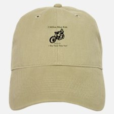 2 Million Bikers Baseball Baseball Cap
