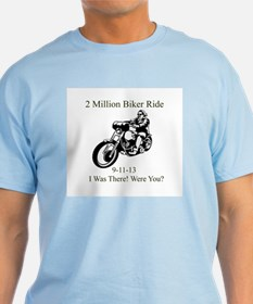2 Million Bikers T-Shirt