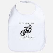 2 Million Bikers Bib