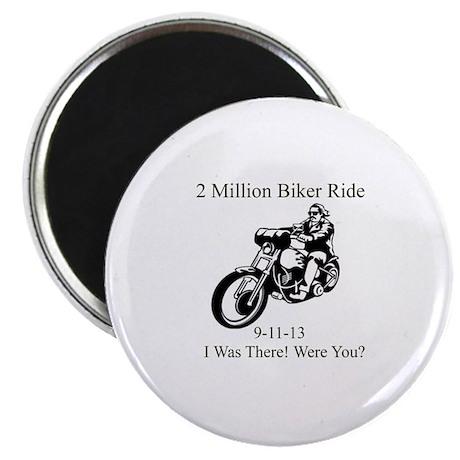 "2 Million Bikers 2.25"" Magnet (100 pack)"