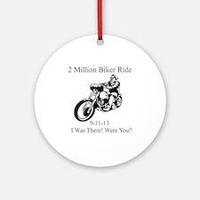 2 Million Bikers Ornament (Round)