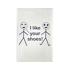 Stick Figure Humor Rectangle Magnet (100 pack)