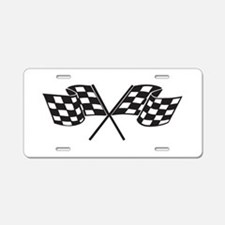 Checkered Flag, Race, Racing, Motorsports Aluminum