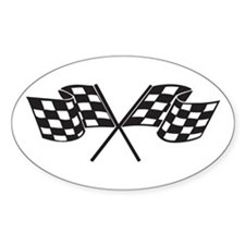 Checkered Flag, Race, Racing, Motorsports Decal