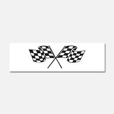 Checkered Flag, Race, Racing, Motorsports Car Magn