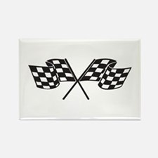 Checkered Flag, Race, Racing, Motorsports Magnets